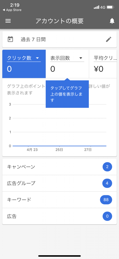 Google広告アプリ