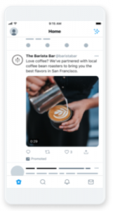 Twitterのプロモ動画広告