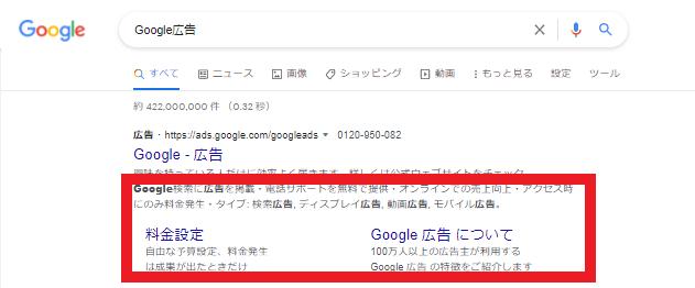 Google広告の広告表示オプション