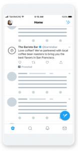 Twitterのプロモテキスト広告