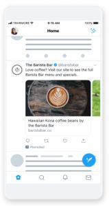 Twitterのプロモカルーセル広告